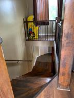 downstairs to kitchen