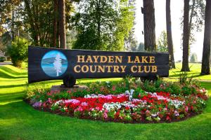 Hayden Lake Country Club.