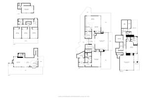 Floor Plan Home and Guest Home