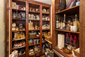 Pantry with Built-in Storage