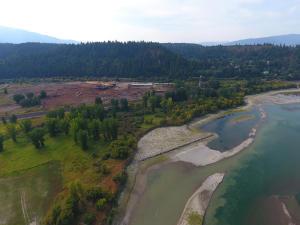 Industrial drone proximity to kootenai