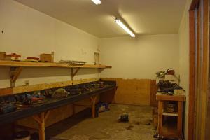 Industrial shop tool room