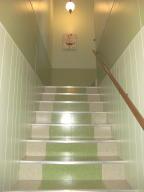 Stairway to garage 2