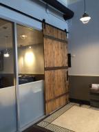 Barn Door to back office