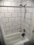 Full tiled walls