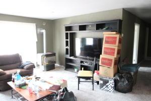 3BR unit-living room