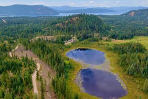 Priest Lake just 5 min away
