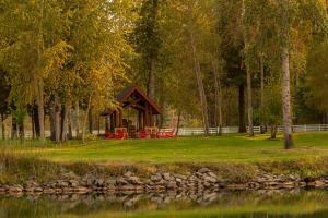 Private Riverfront Park