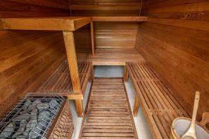 Sauna Off of Pool