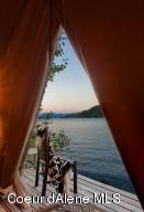 Sleeping Tent View