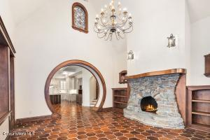 LIBRARY FIREPLACE ROOM