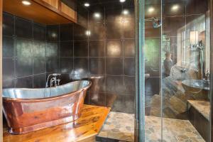 Master Suite Bathroom-Copper Tub