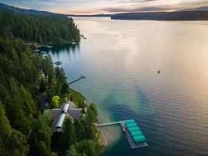 Hayden Lake Aerial