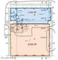 Demised floor plan
