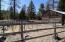 Carport and garden fenced area