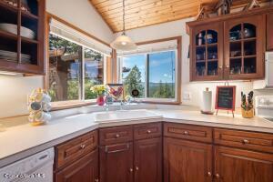 Lake View Kitchen Corner Sink