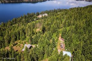 Home and Land Above Lake