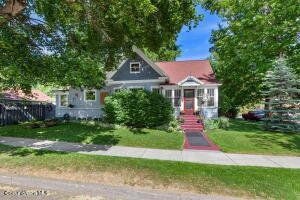 Downtown Art Beauty right in downtown just blocks to Sherman, Tubbs Hill, the Lake. Great location! Live in the heart of Coeur d Alene with an updated Garden District beauty, 2361+SF, 3 bedrooms + non-conforming and bonus room, 2 baths