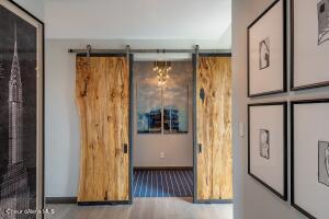Barn Doors to Master Bedroom