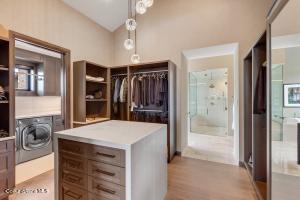 Walk-In Closet + Laundry Center