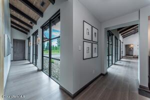 Wide Spacious Glass Art Gallery