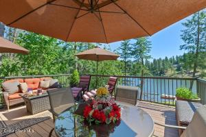 The most special property on Avondale Lake in close-in Hayden. 243 Feet of Frontage and 1.5 acres on 3 parcels.