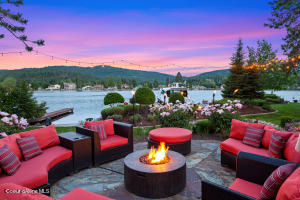 Spokane River Views from your water front private 1 acre estate a short drive or boat ride away from Coeur d'Alene, Idaho
