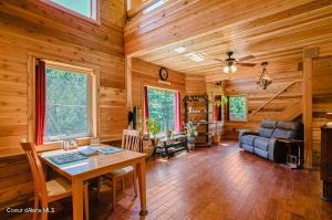 Beautiful Cedar Lined Interior.