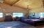 Master Bedroom - 17' Wide X 17.5 Long ---- 17' Ceilings. 3 Large Windows, Tile Floor