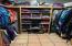 2 built-in clothing cubby shelves