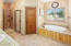 Primary Bathroom with 2 Walk-In Closets