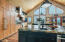 Thermador Appliances With Tight Notch Cedar Ceilings Throughout