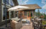 Upper Deck with Gas Fireplace for Cozy Entertaining throughout Spring/Summer/Fall