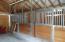 (2) aluminum horse stalls