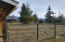 Small fenced corral