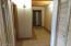 Hallway by mudroom