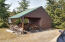 Wood storage shed & 30 KW generator!