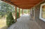 Gorgeous covered porch!