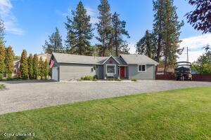 3 Bedrooms plus 2 bonus rooms, 2.5 Baths, 2094 sf; new gravel driveway & completely updated with new floors, roof, electrical, kitchen & more! Large driveway for plenty of parking including RVs. No HOAs or CCRs.