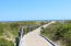 Path to Sullivans Island beach (two blocks from condo)