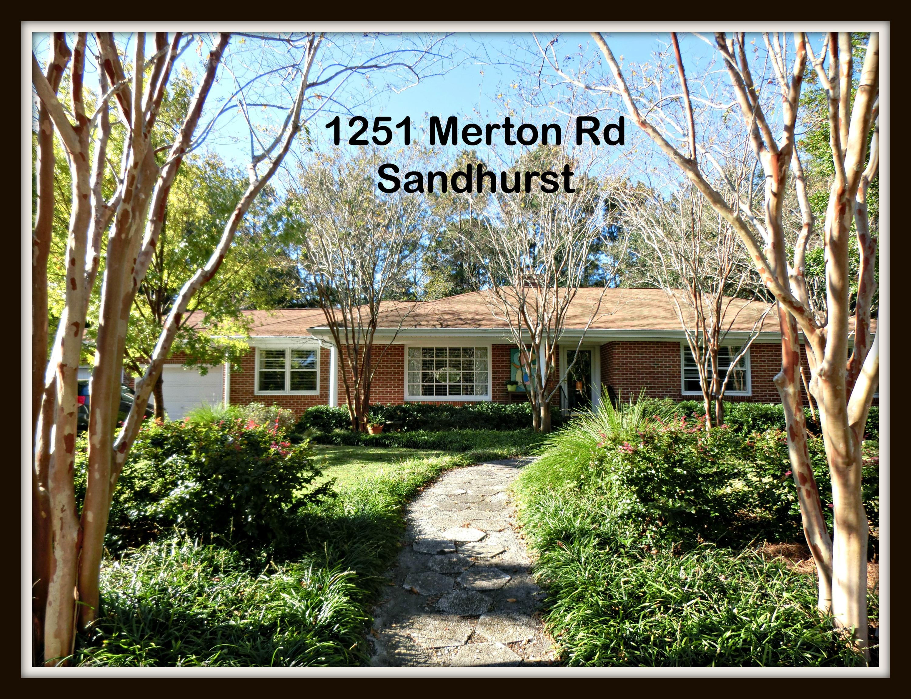 1251 Merton Road Charleston, SC 29407