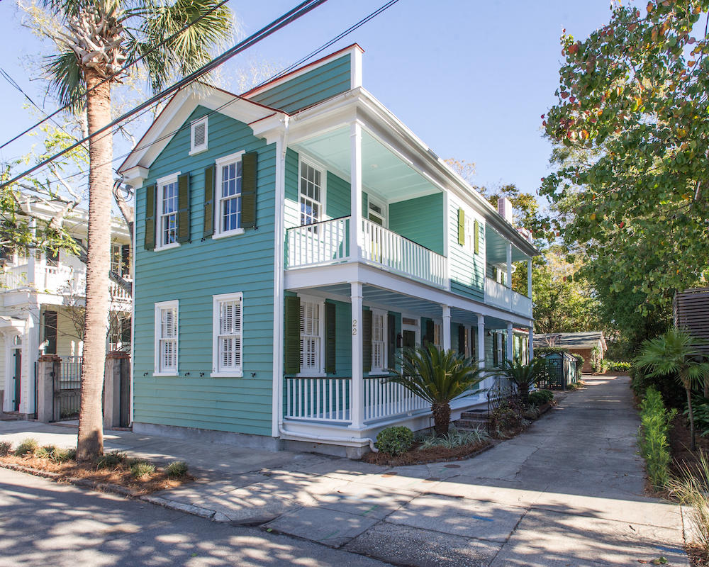 22 Gadsden Street Charleston, SC 29401