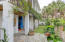 Unit A: Side courtyard