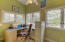 Unit A: Office/sunroom off the kitchen