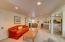 Living room of Unit D