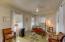 Studio apartment style living in Unit C - note T & G ceilings