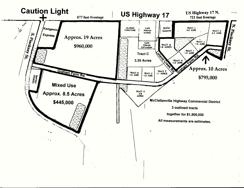 10141 Highway Commercial District Mcclellanville, SC 29458