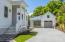 Entrance porch and garage/carport