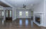 Great room and double entry doors