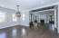 Great room, entrance and dining area